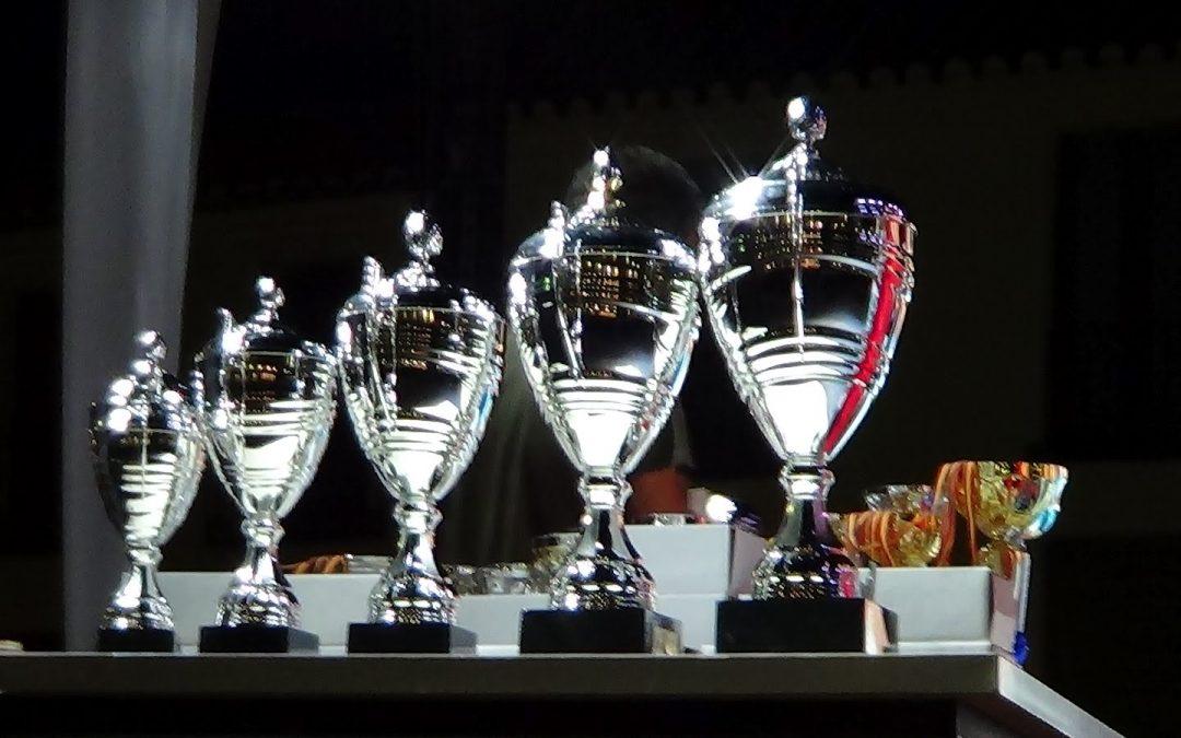Los equipos de la E.F Parque Adelfas protagonistas en la entrega de Trofeos del Distrito Retiro
