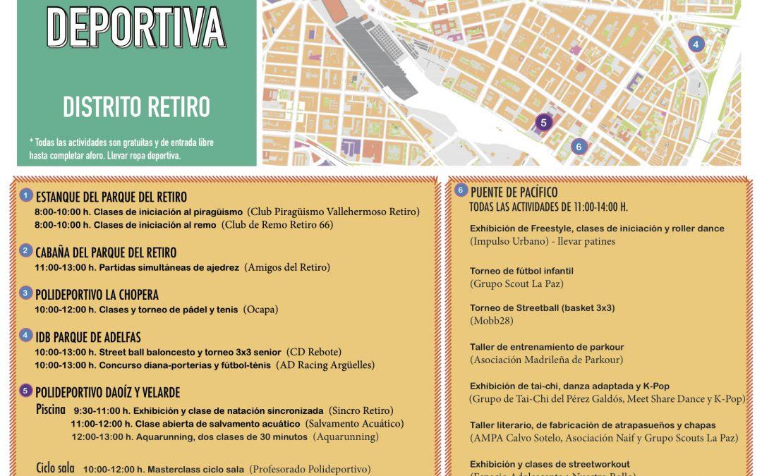 I JORNADA LÚDICO-DEPORTIVA DSITRITO RETIRO